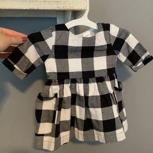 Baby Girl Buffalo Plaid Dress